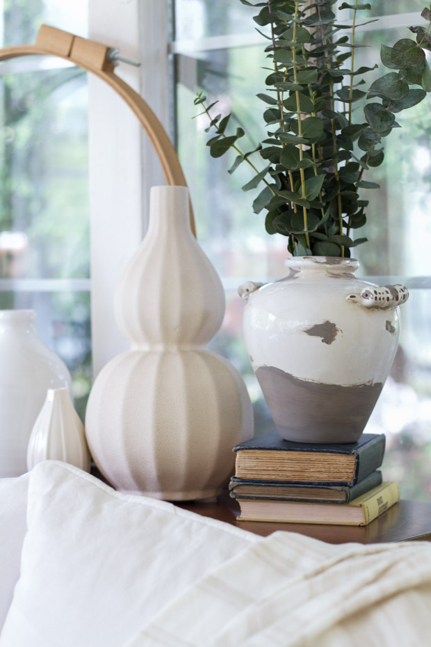 Pottery Barn Inspired Ceramic Vase