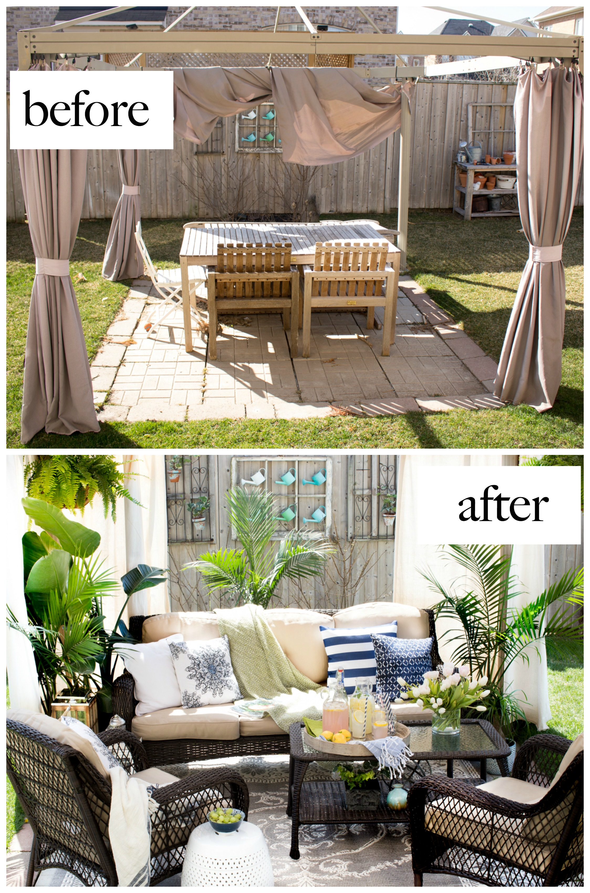 Patio Makeover with Joss & Main on Outdoor Patio Makeover id=85363