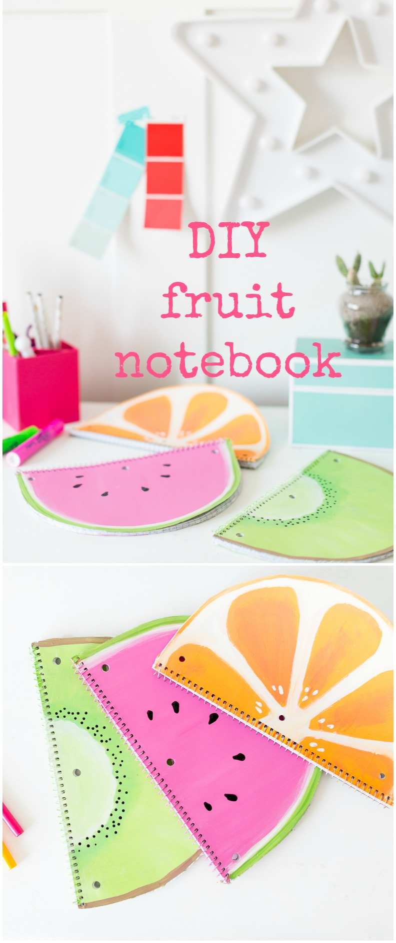 fruitnotebookdiycollage