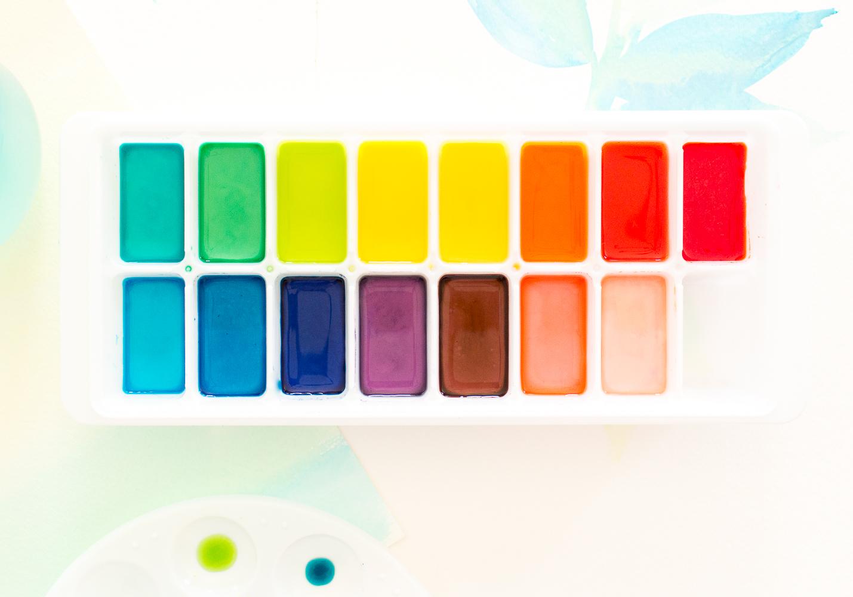 Как сделать рисунки на ногтях акриловыми красками пошагово 75