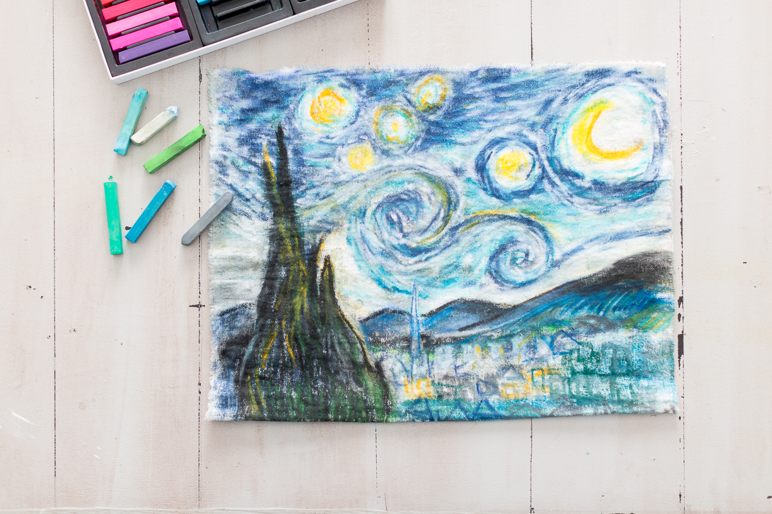 how to use pastels in art