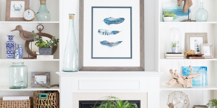 Custom Framed Watercolor