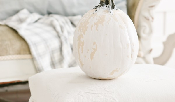 Chippy Vintage Pumpkin DIY