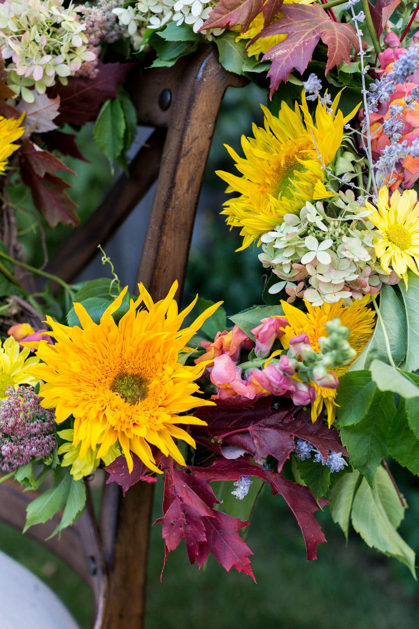 natural fall flower wreath-6
