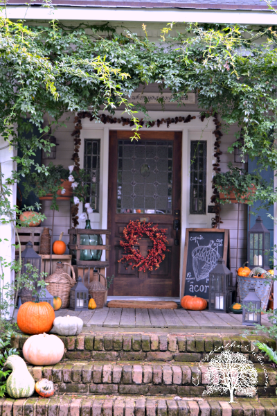 Cottage-in-the-Oaks-Autumn-Front-Porch