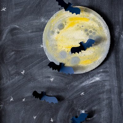 Halloween Moon Art