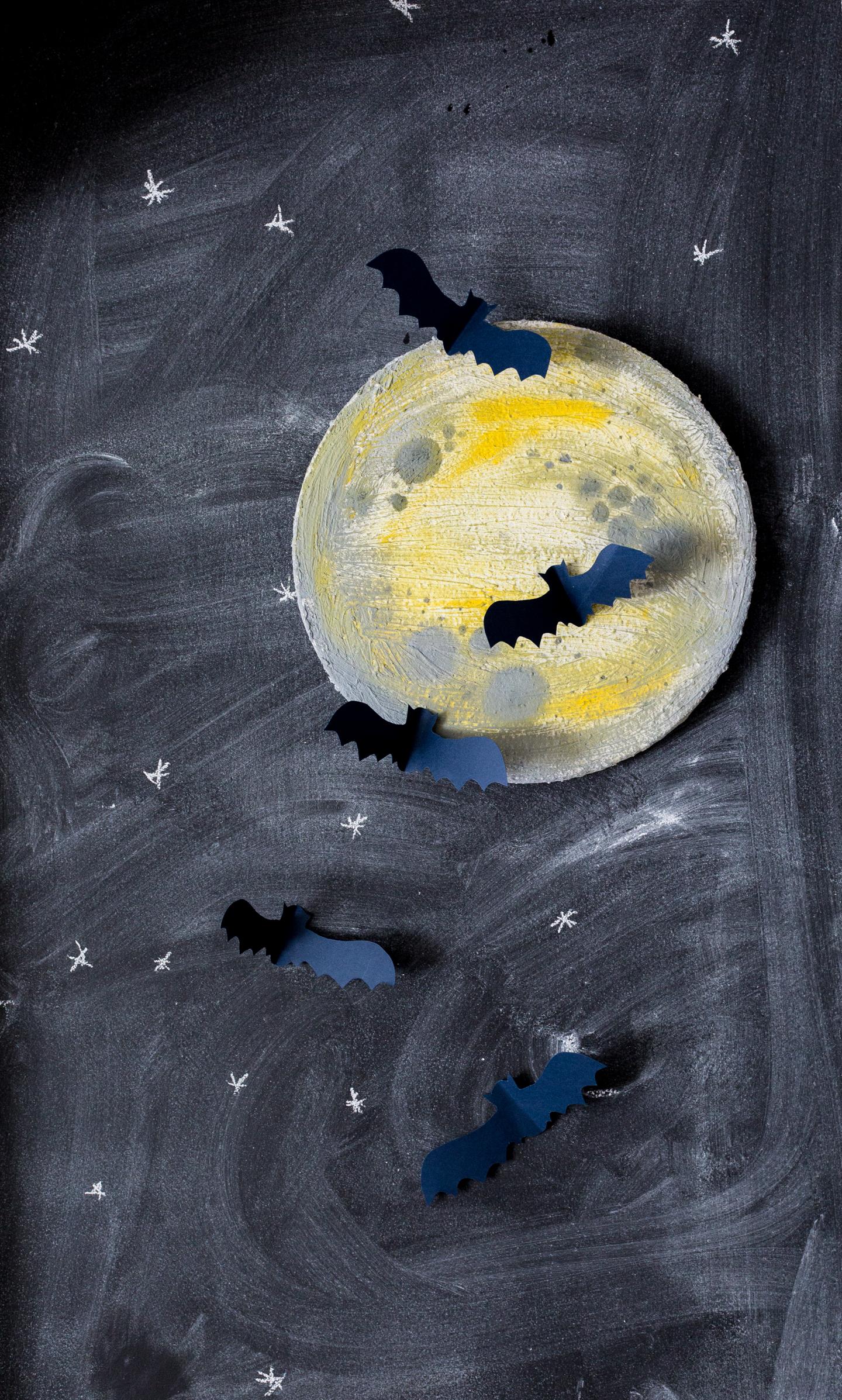 Halloween Moon Art