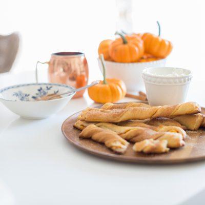 Pumpkin Pie Sticks
