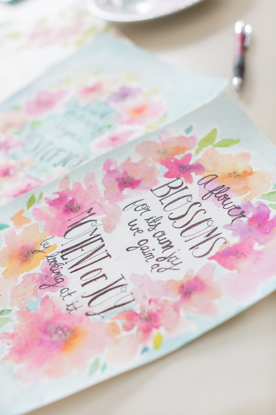 Free Spring watercolor printable craftberrybush-6