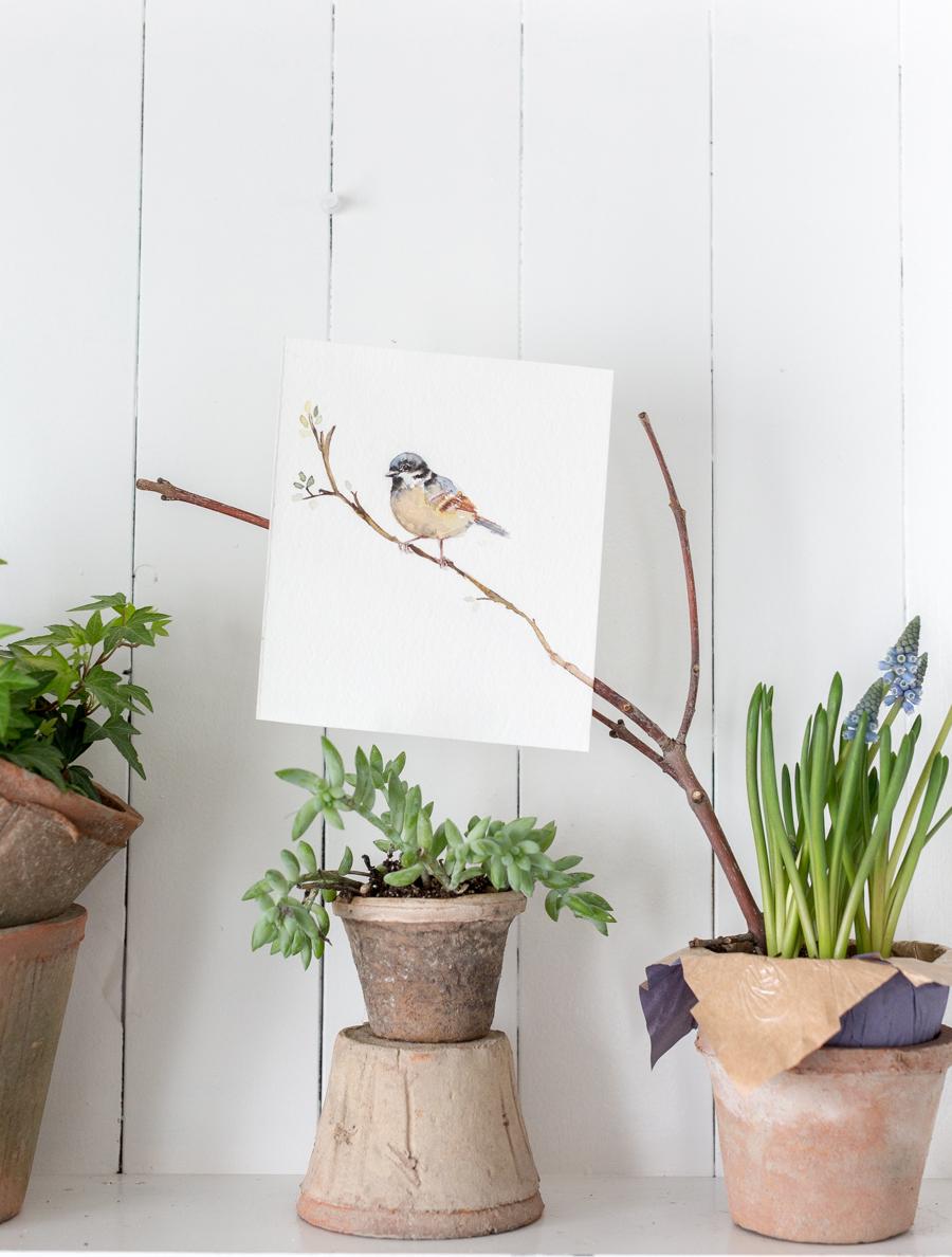 springwatercolorbirdcraftberrybush-4