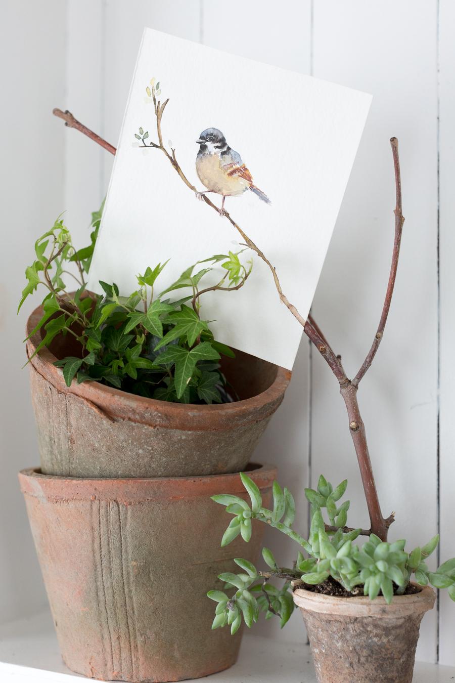 springwatercolorbirdcraftberrybush-7