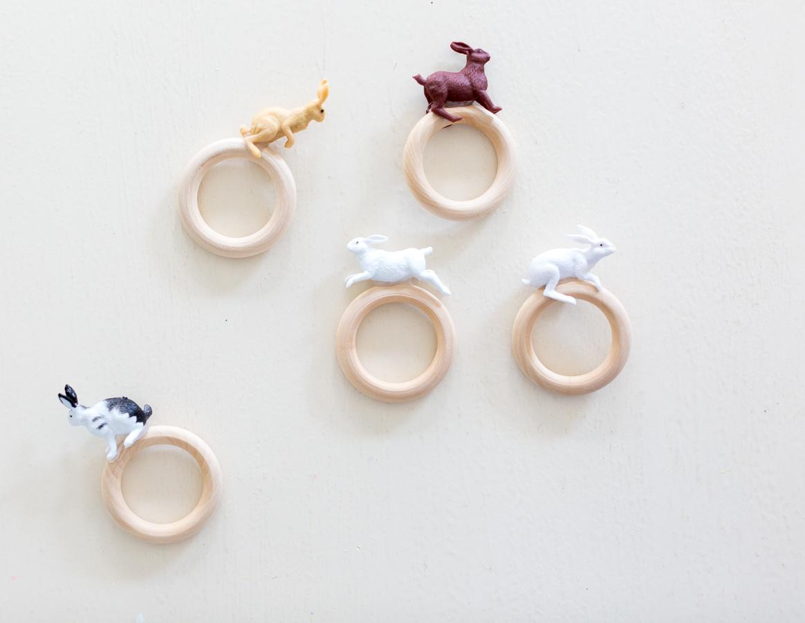 Easter Bunny Napkin Ring DIY craftberrybush-2