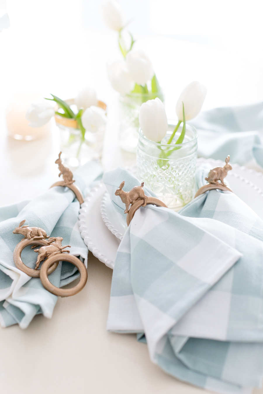 Diy Easter Bunny Napkin Ring