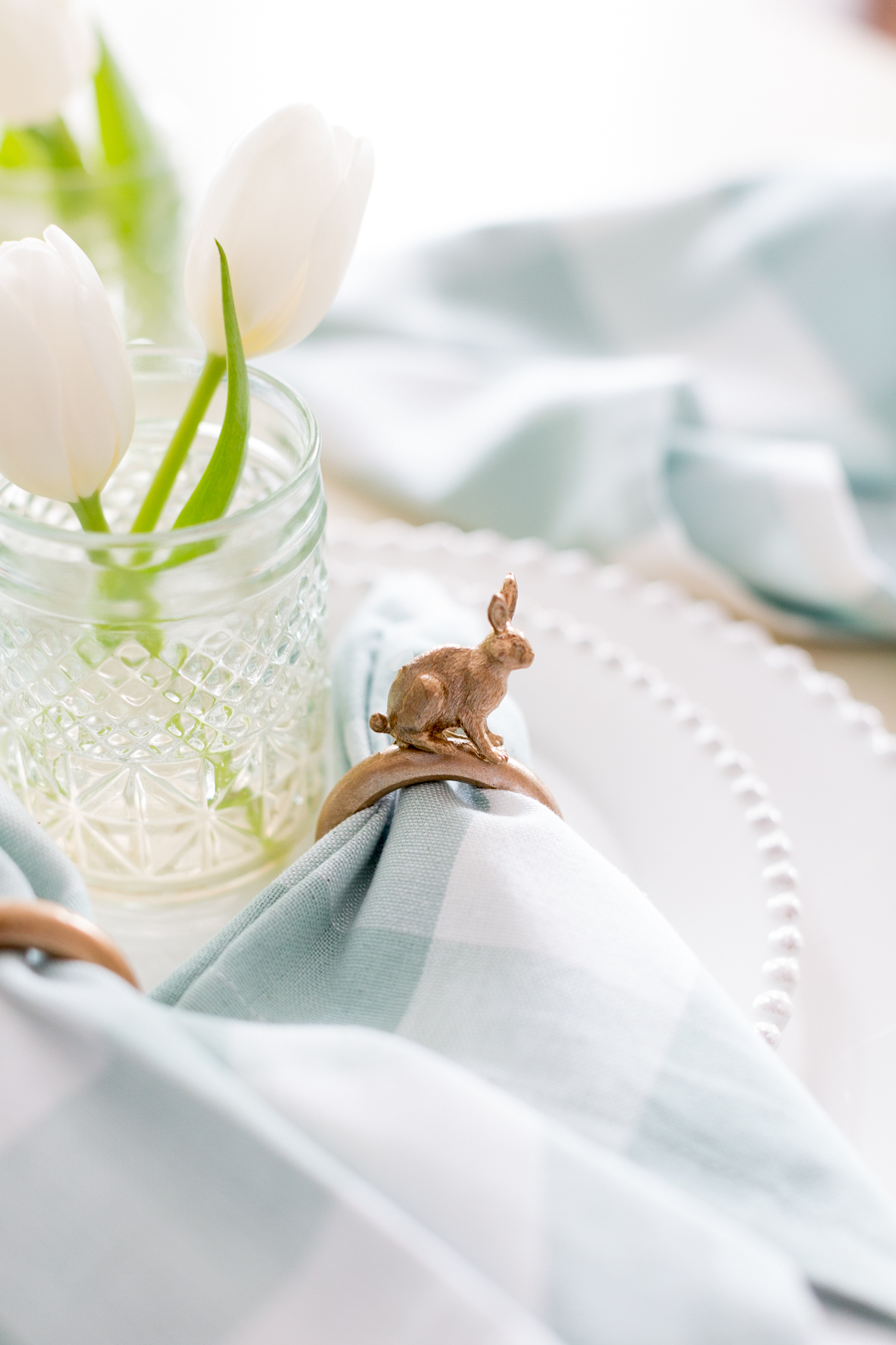 Diy easter bunny napkin ring easter bunny napkin ring diy craftberrybush 4 solutioingenieria Images