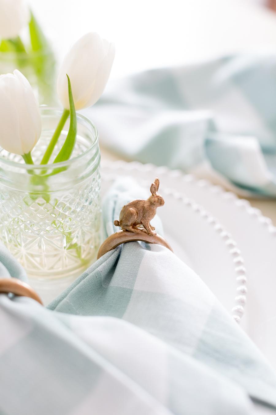 Easter Bunny Napkin Ring DIY craftberrybush-4