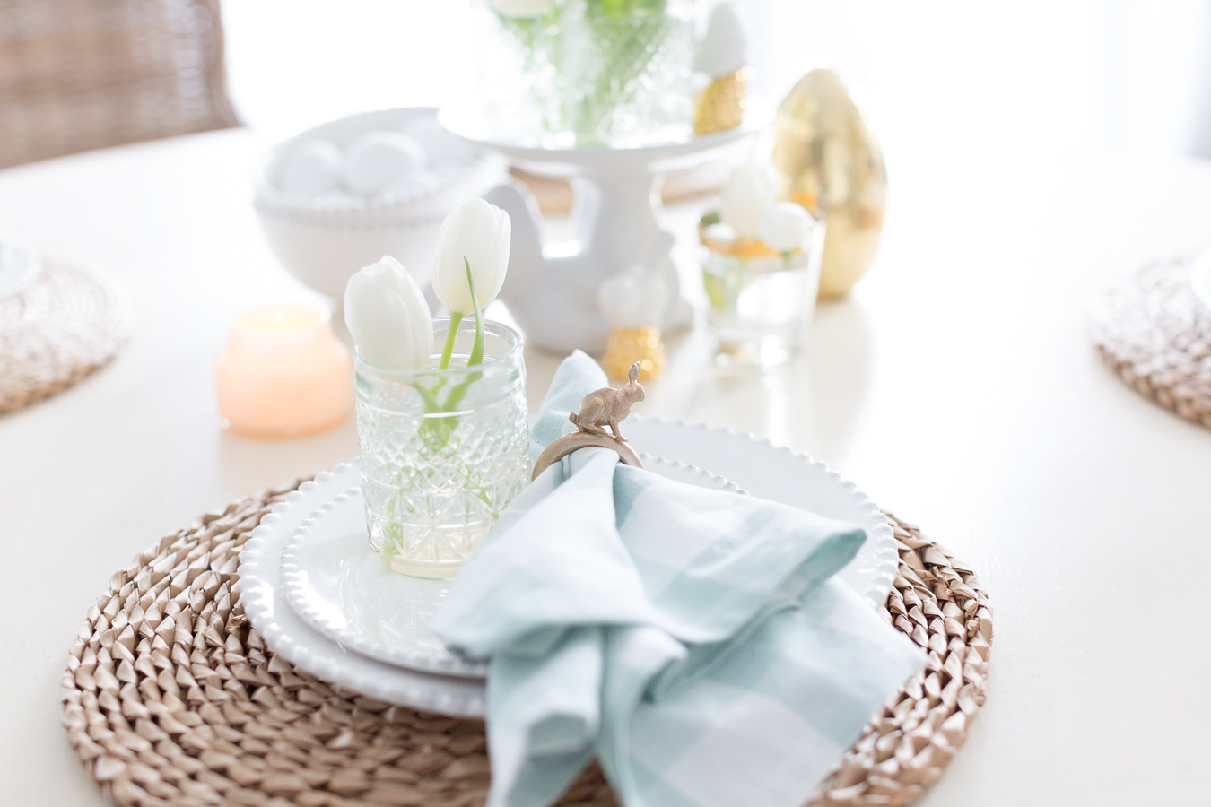 Easter Bunny Napkin Ring DIY craftberrybush-8