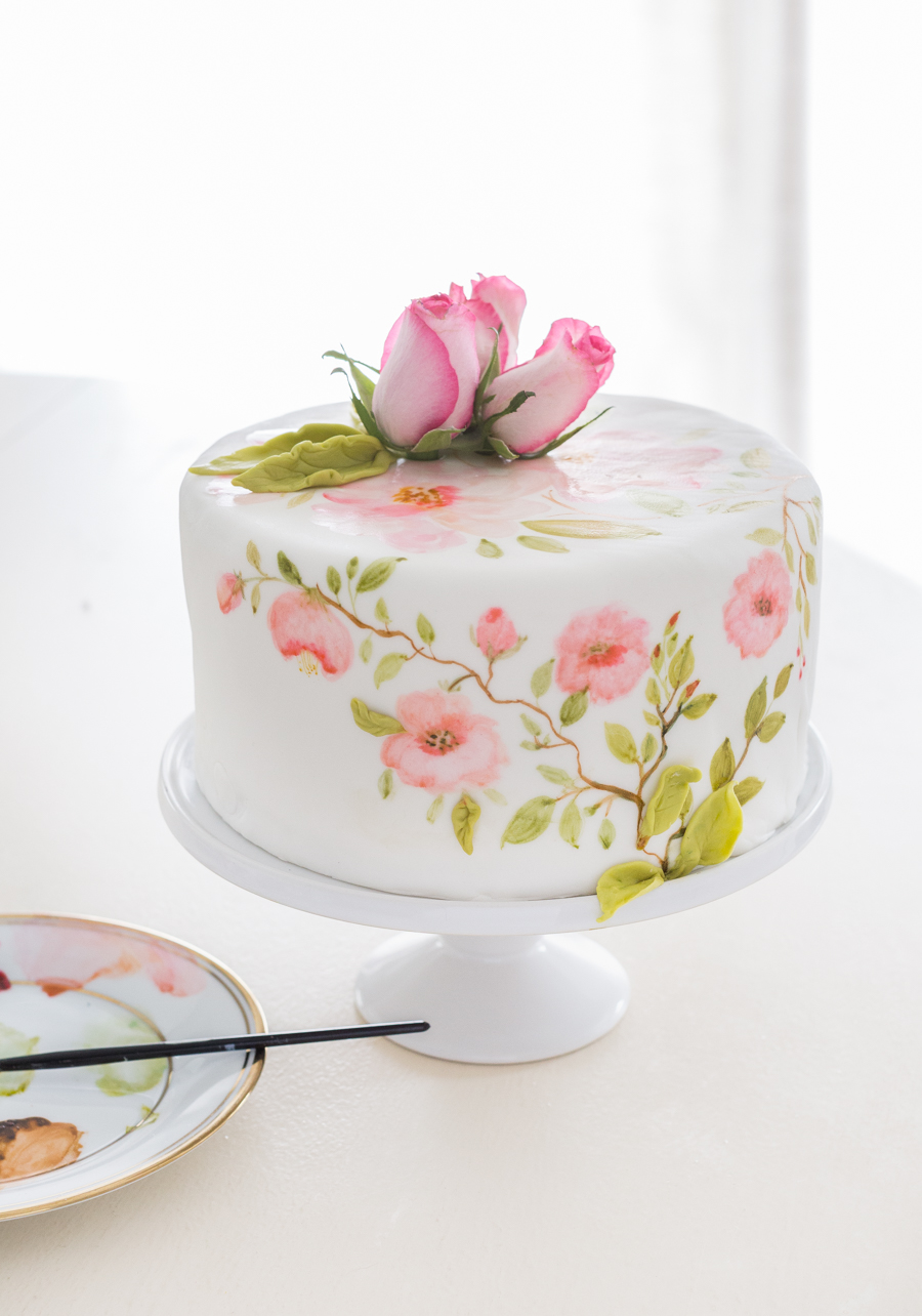 painted fondant cake_-4