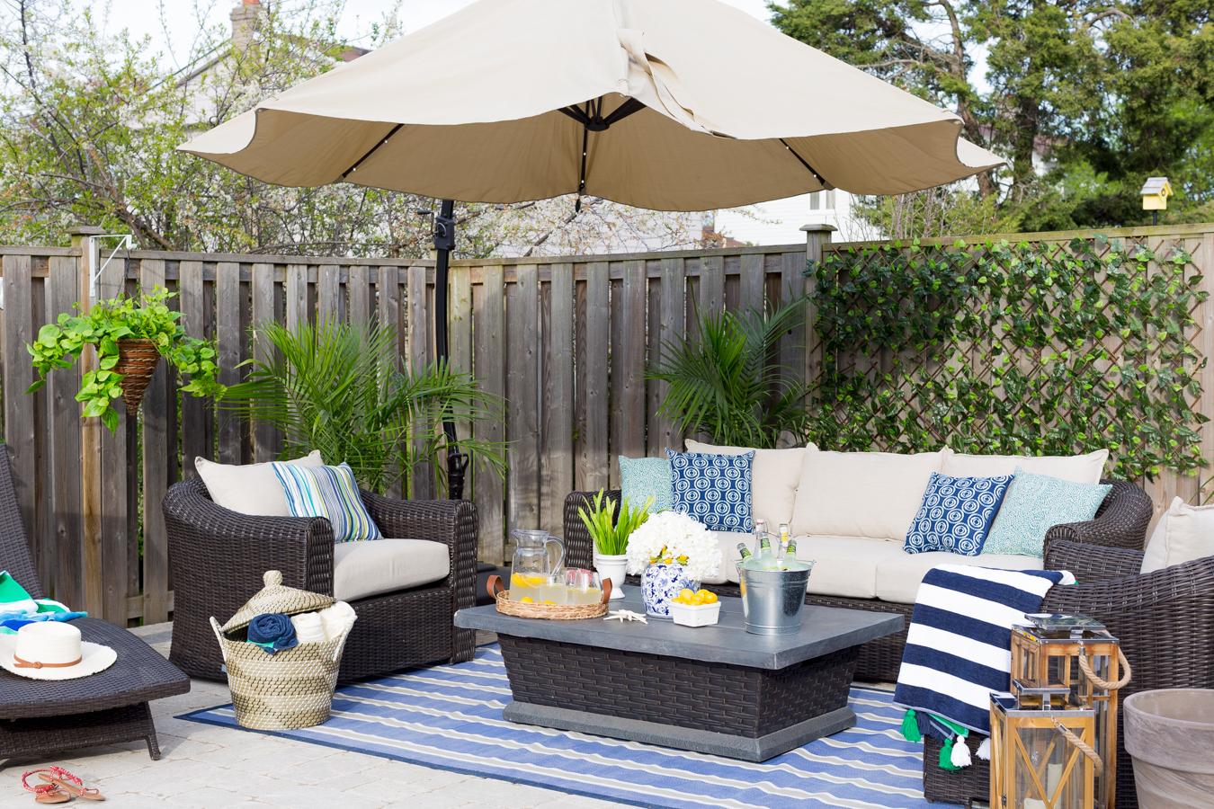 Suburban Backyard Spruce up