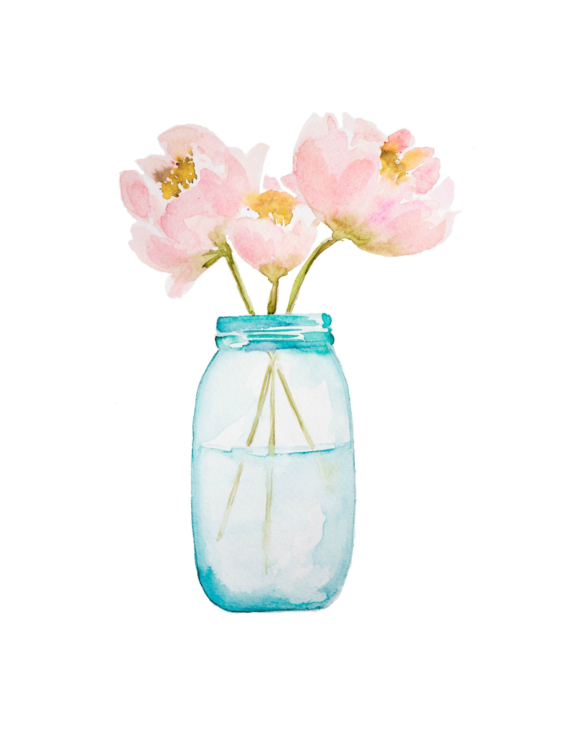 flower vase illustration with 3d Paper Flower Art With Free Watercolor Printable on Home As Sketch Vase in addition Rub Tubes Fleurs 10 moreover Flower Pot further Kctpsde30089 Vase Flowers Happy Birthday Greeting Card By Talking Pictures Cards besides Indigo Watercolor Floral Design.