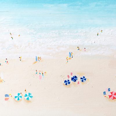 How to Paint a Beach Scene
