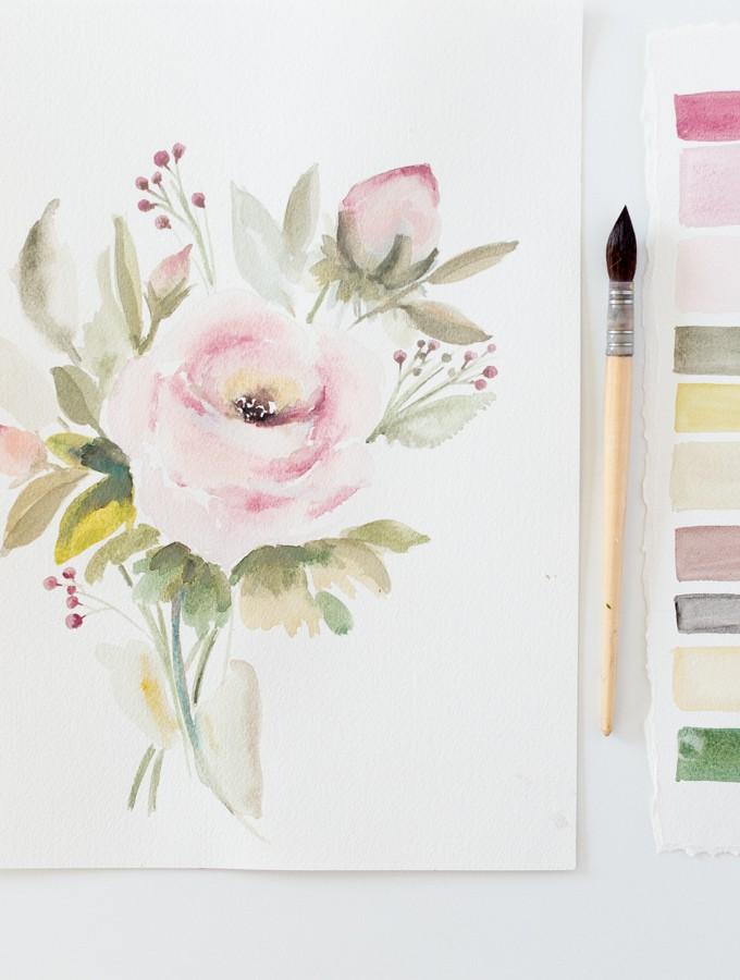 watercolorcraftberrybush-17