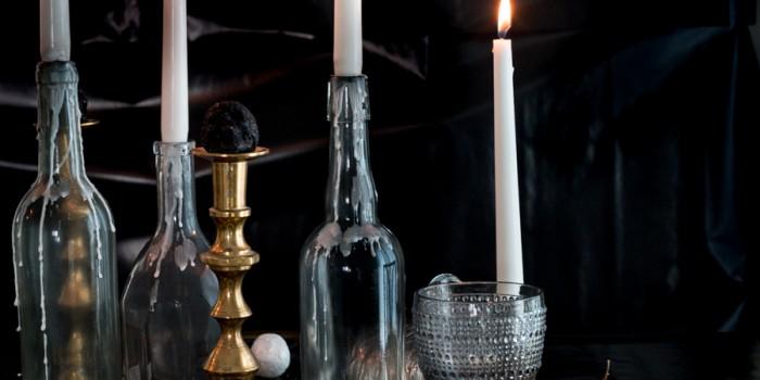 Elegant Halloween Table