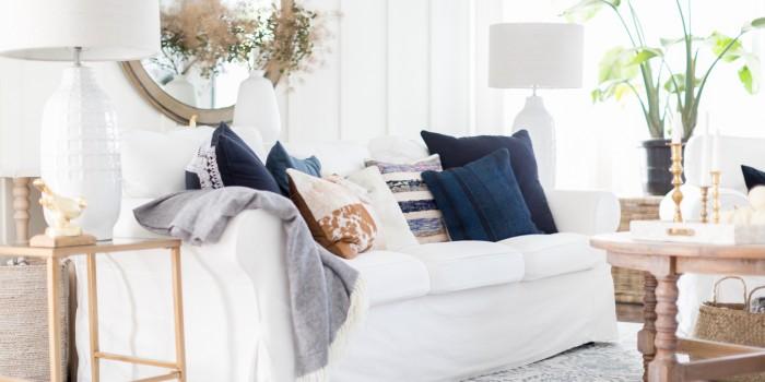 Living Room Fall Decor