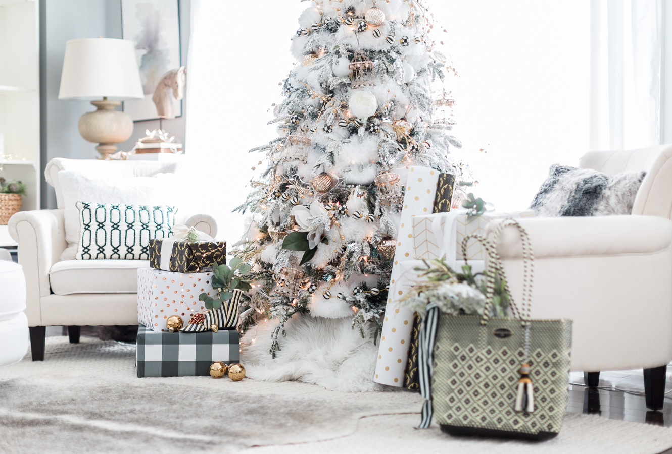black and white christmas tree craftberry bush_-13