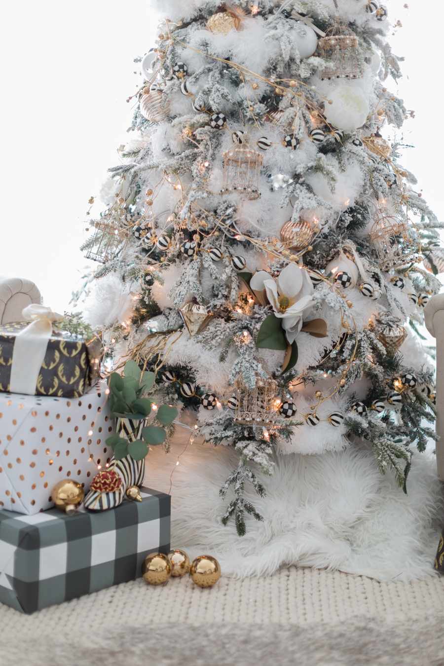 black and white christmas tree craftberry bush_-19
