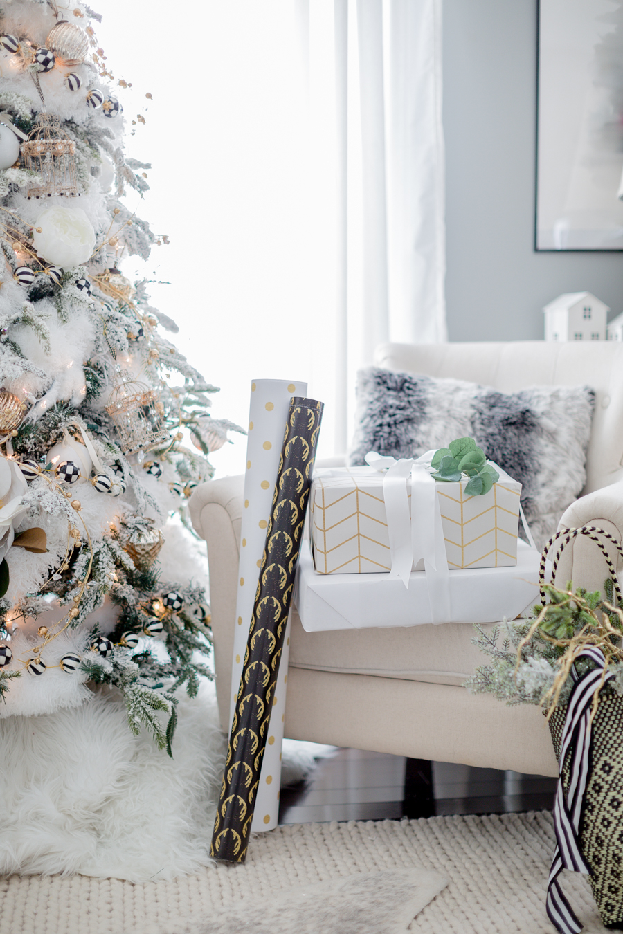 black and white christmas tree craftberry bush_-20
