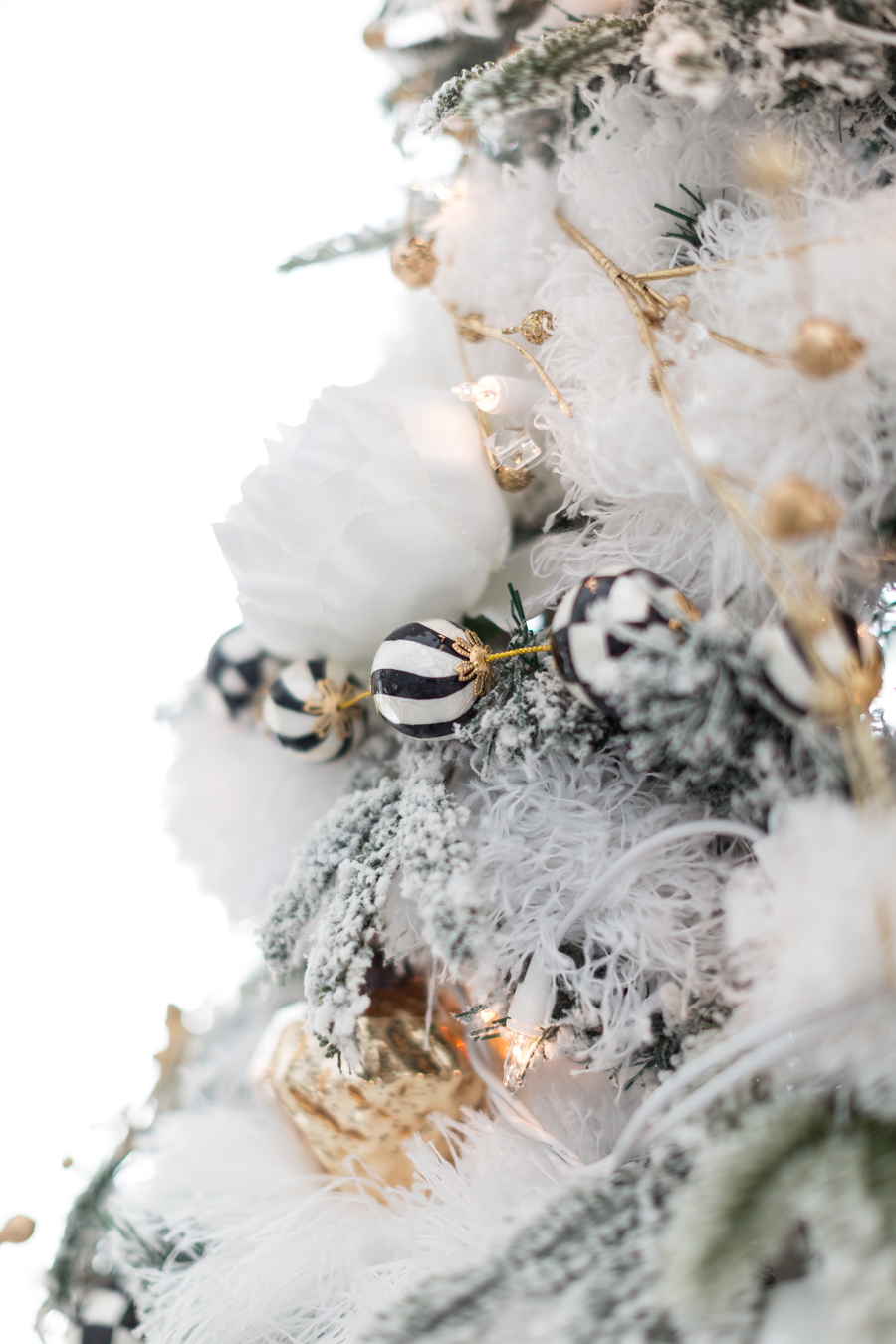 black and white christmas tree craftberry bush_-23