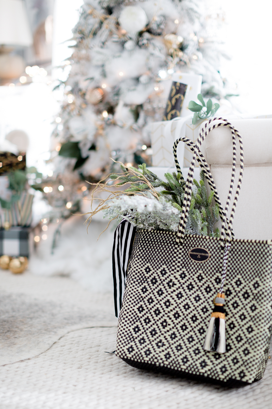 black and white christmas tree craftberry bush_-26