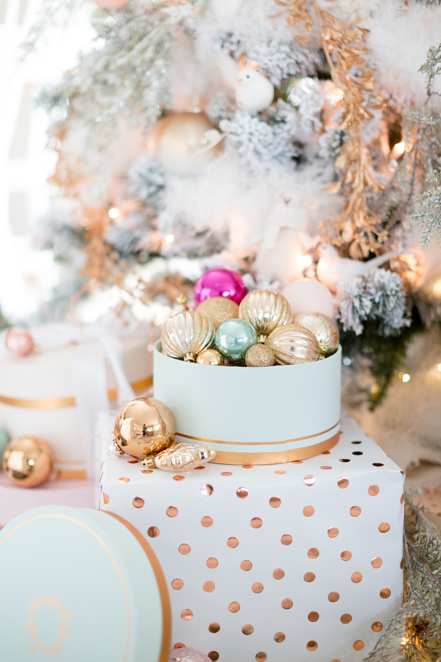pastel christmas decor craftberrybush_-37