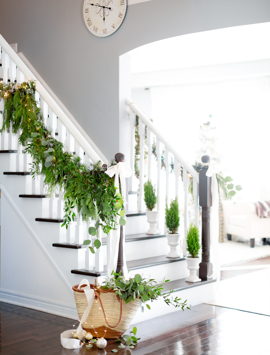 Faux garland hack