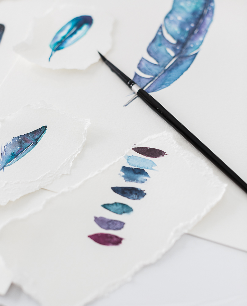 howtopaint a feather_-5