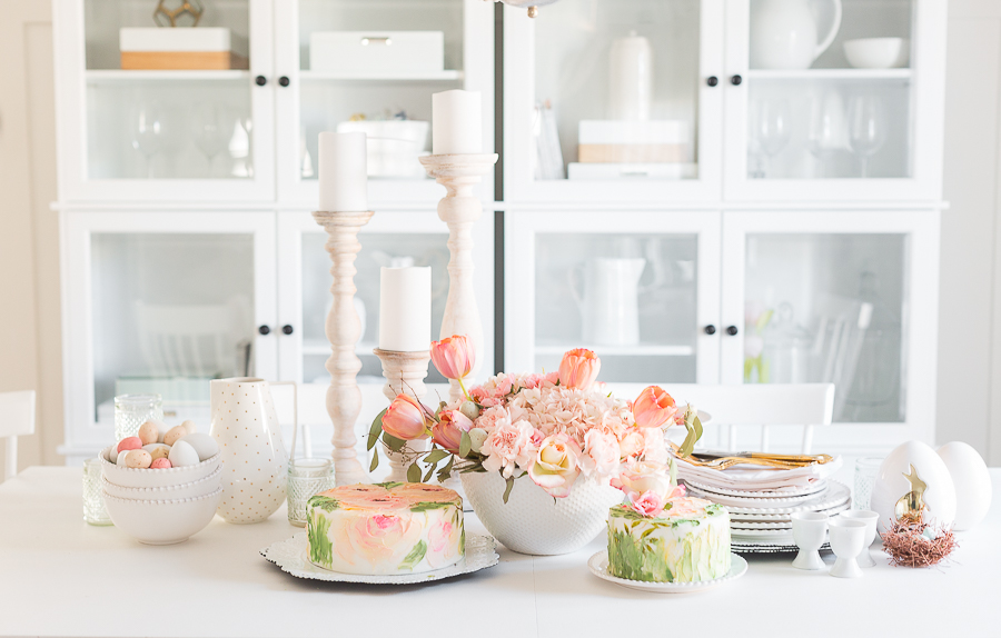Springdecoratingdiningroomcrafttberrybush-17
