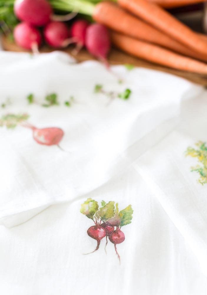 watercolorteatowelcraftberrybush