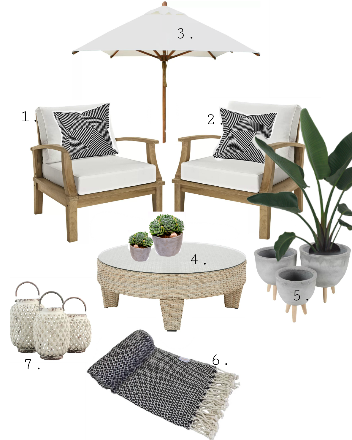 Patio Inspiration and huge sale aler