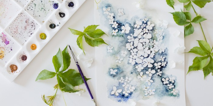 Painting Hydrangeas And How to Make Hydrangeas Last Longer – tips from a florist