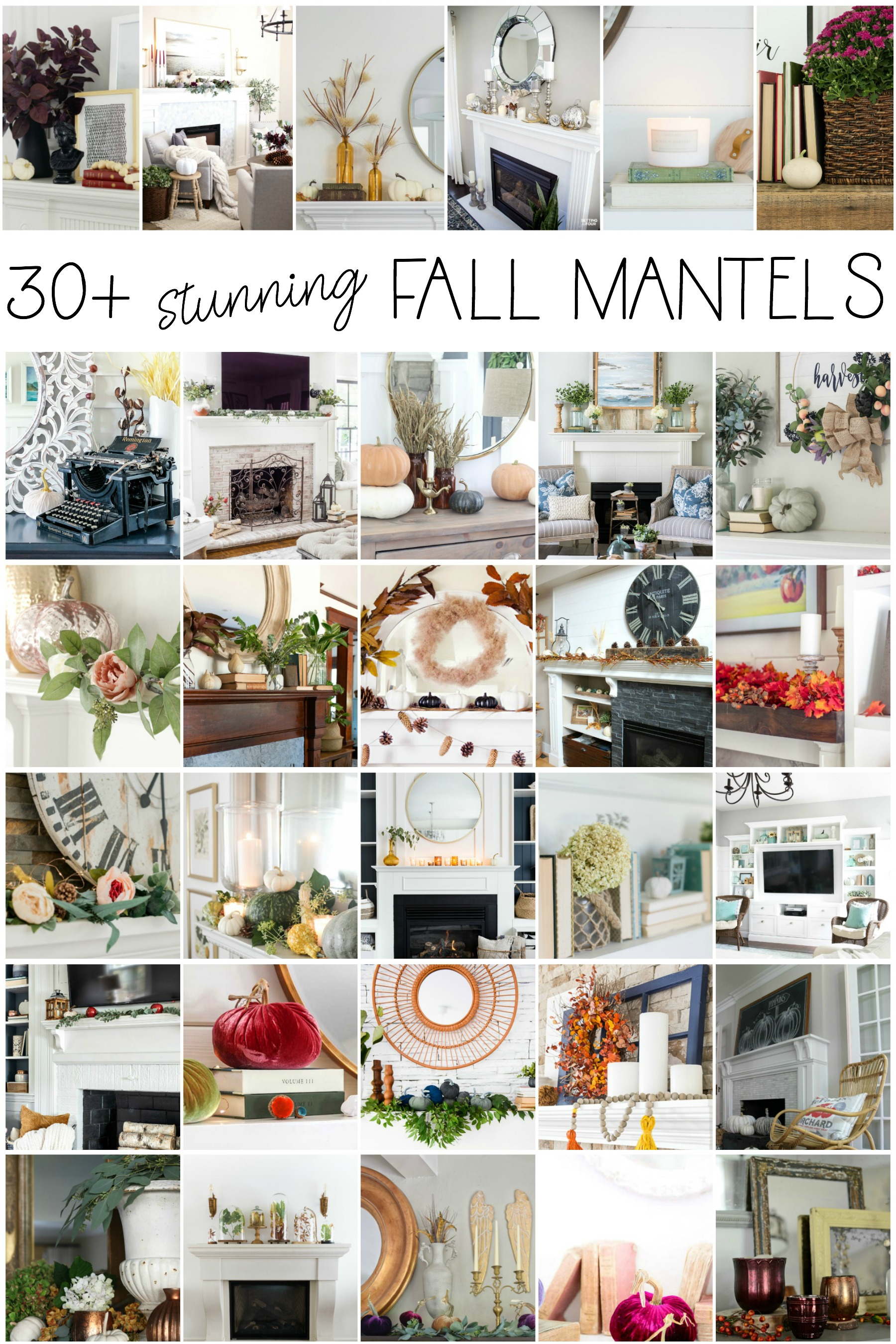 over 30 absolutely stunning fall mantel and fall vignette ideas Seasonal Simplicity Fall Series