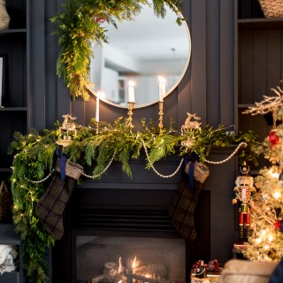 christmas mantel decor craftberrybush-14