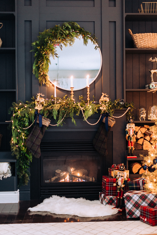 christmas mantel decor craftberrybush-16