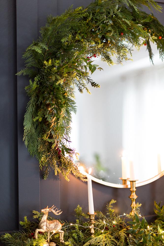 christmas mantel decor craftberrybush-5