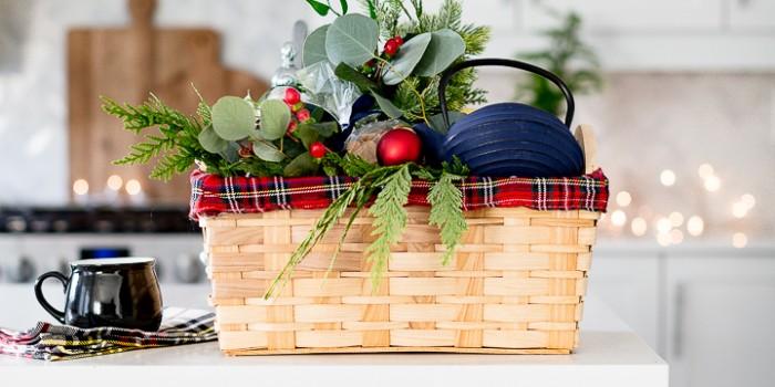 Tea Lover Christmas Gift Basket