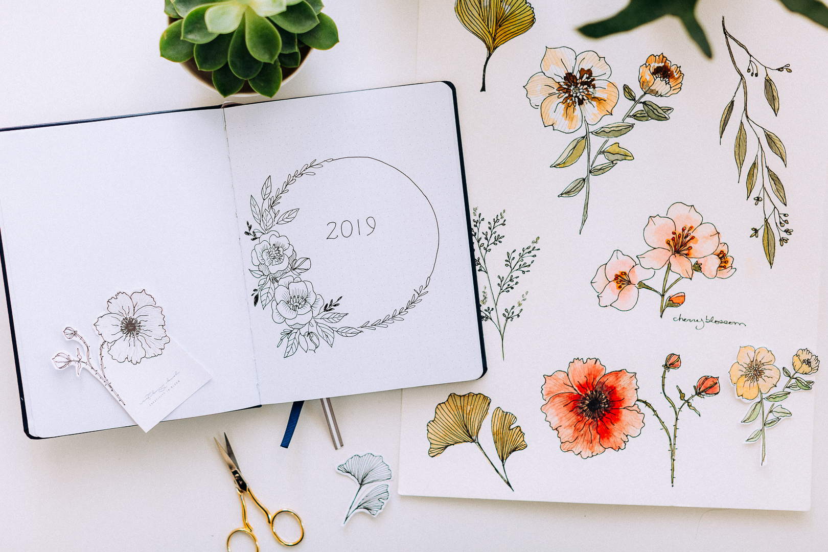 My first bullet journal, 2 free months of Skillshare Premium