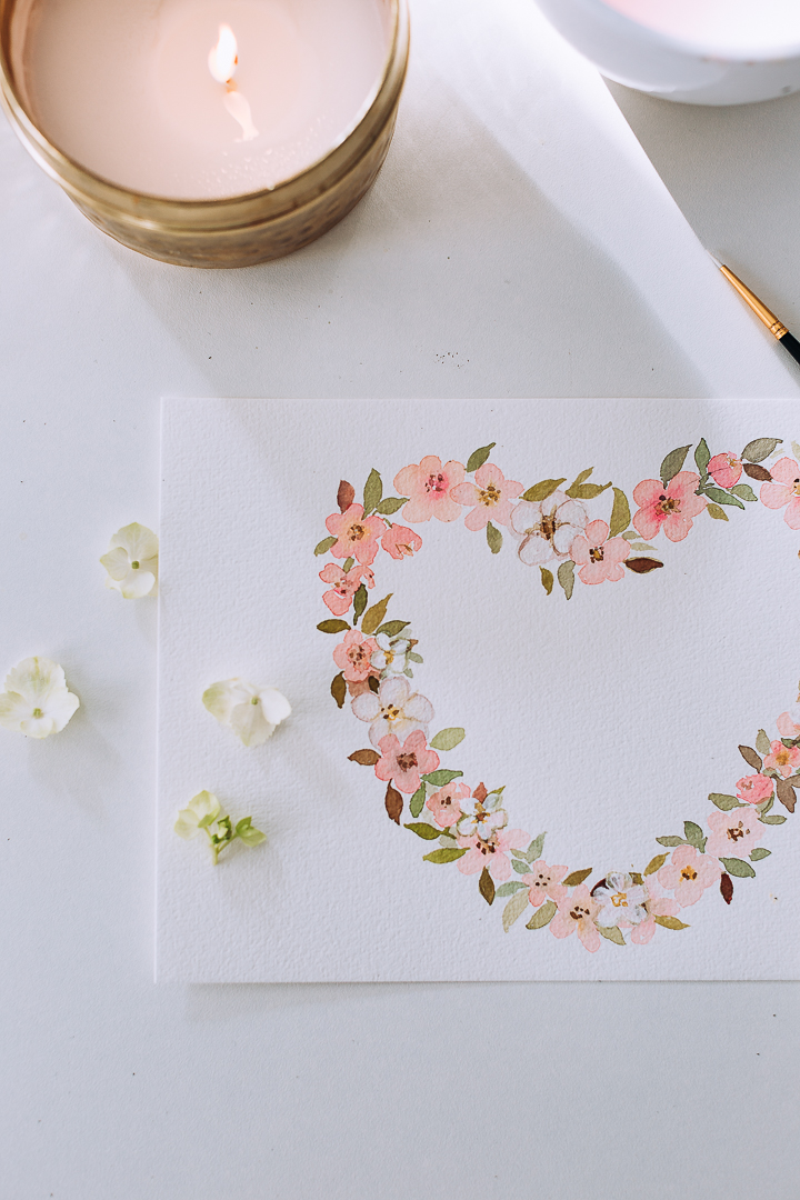 photo regarding Printable Video known as Cherry Blossom Middle Wreath a online video and cost-free printable