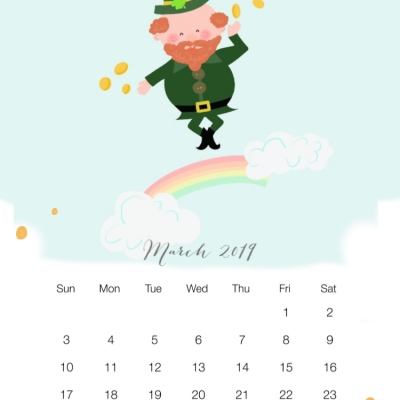 March Wallpaper