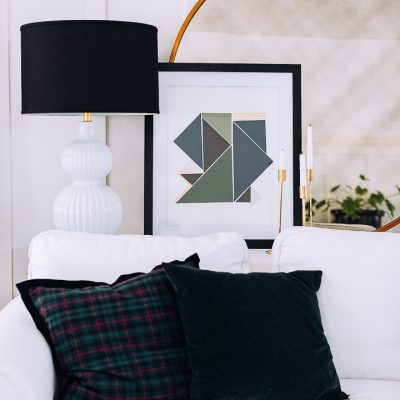 Easy Geometric Wall Art DIY