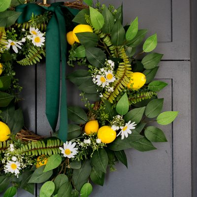 Dollar Store Spring/Summer Wreath