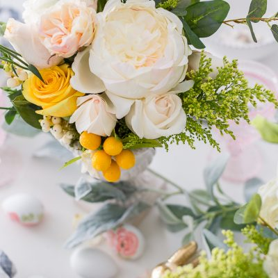 Sweet Spring Tablescape